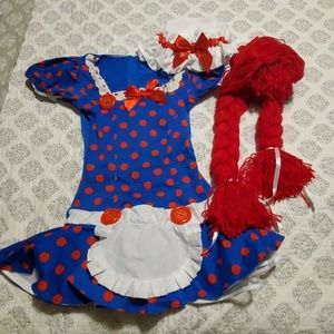 3pc Ragedy Anne costume